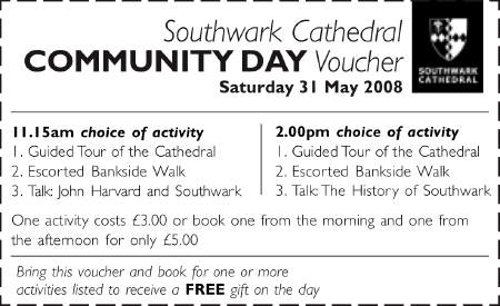 Community Day at Southwark Cathedral