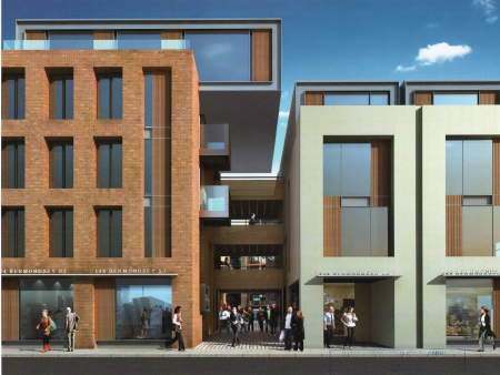Plans for 144-152 Bermondsey Street at