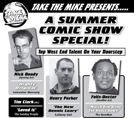 Summer comic show special at