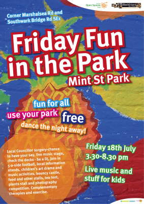 Friday Fun in the Park at