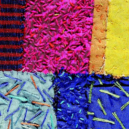 4 by 4 Textile Artists at