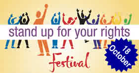Stand Up for Your Rights festival at