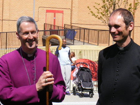 Bishop of Woolwich & Fr Andrew Dodd