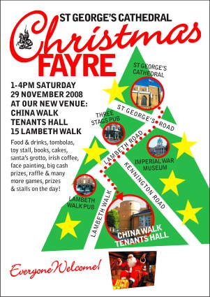 St George's Cathedral Christmas Fayre at