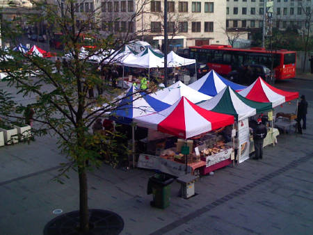 Slow Food Market at