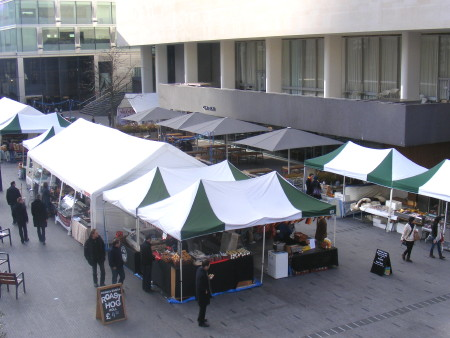 Slow Food Easter Market at Southbank Centre Square