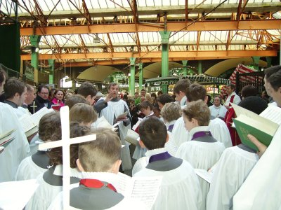 Palm Procession & Choral Eucharist at