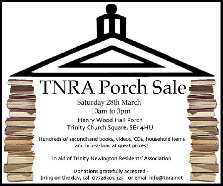 Porch Sale at Henry Wood Hall