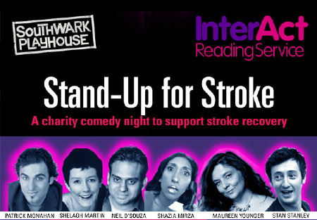 Stand-Up for Stroke at Southwark Playhouse