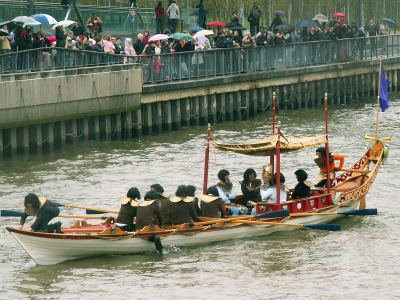 The Jubilant in 2006 at Bankside Pier