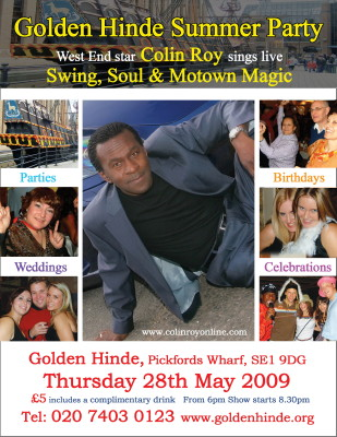 Golden Hinde Summer Party at