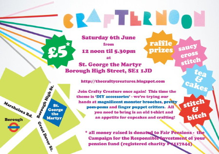 Crafternoon at St George the Martyr