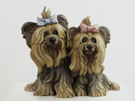 Jeff Koons Yorkshire Terriers  1991 © Jeff Koons