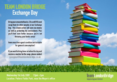 Team London Bridge Exchange Day at Potters Fields Park