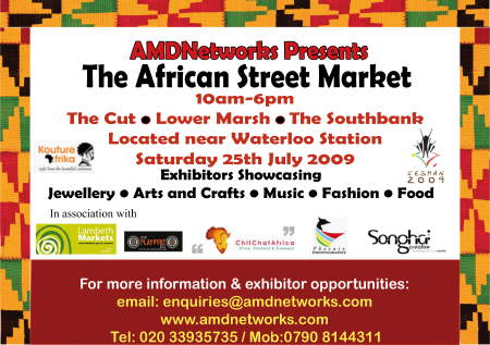 African Street Market at Lower Marsh