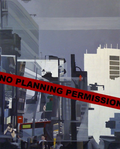 No Planning Permission at Blows Yard