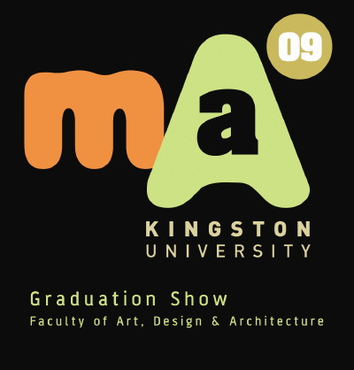 Kingston University MA Design Show at Bargehouse