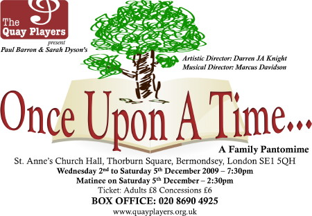 Once Upon a Time at St Anne's Church Hall