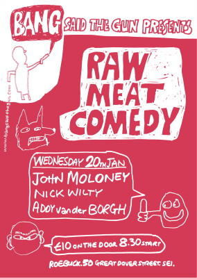Raw Meat Comedy at