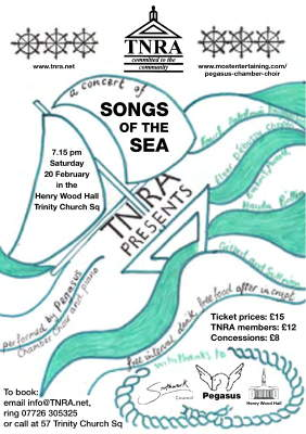 Songs of the Sea at Henry Wood Hall