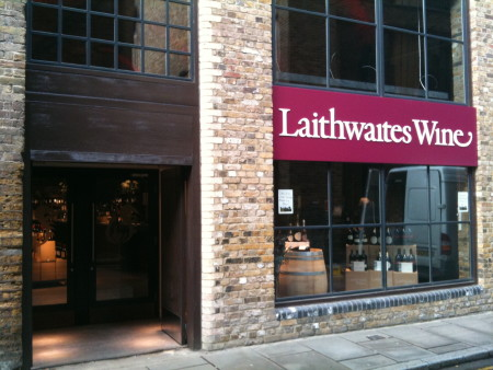 Champagne Launch of Laithwaites Wine store at Vinopolis