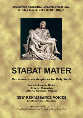 Stabat Mater at Southwark Cathedral
