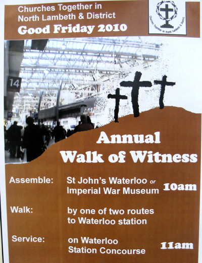 Ecumenical Walk of Witness at