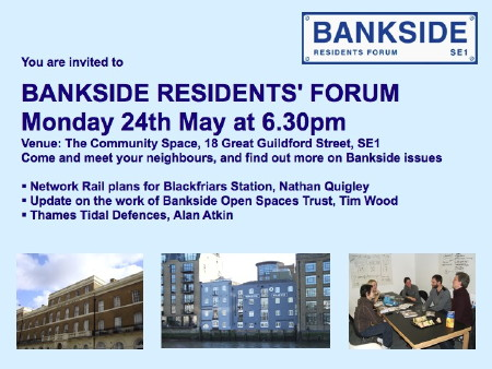 Bankside Residents' Forum at