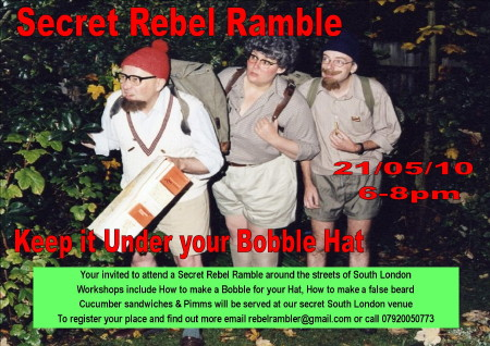 Secret Rebel Ramble at