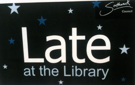 Late at the Library at