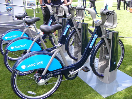 Barclays Cycle Hire Roadshow at The Scoop at More London