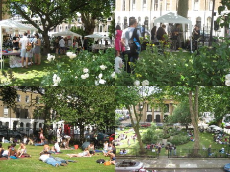 Open Garden Squares Weekend at Merrick Square