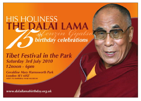 Tibet Festival in the Park at