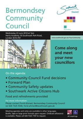 Bermondsey Community Council at