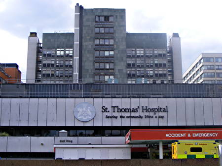 St Thomas' Hospital East Wing Recladding Scheme Exhibition at