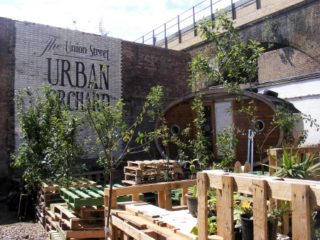 Make and Take at the Union Street Urban Orchard at 100 Union Street