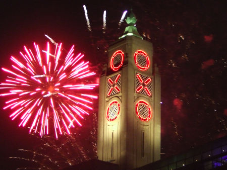 Lord Mayor's Show Fireworks Display at
