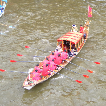 Thames Festival River Parade at