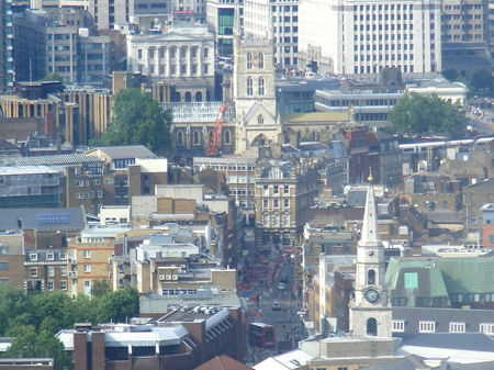 Borough High Street seen from Strata SE1