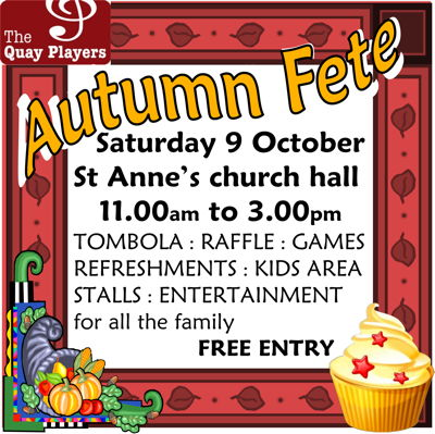 The Quay Players Autumn Fete at