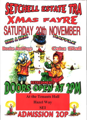 Christmas Fayre at Setchell & Longfield Hall