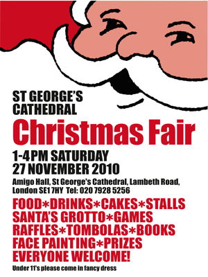 Christmas Fayre at St George's Cathedral