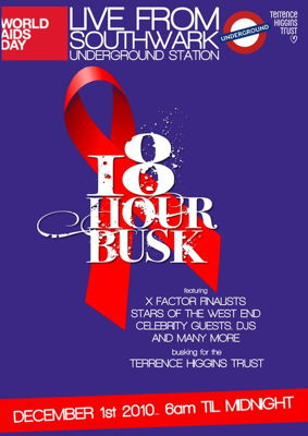World AIDS Day Busk at