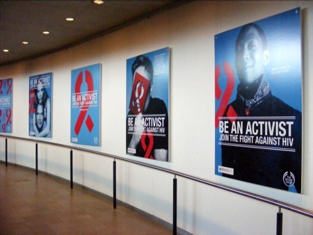 World AIDS Day by Rankin at City Hall