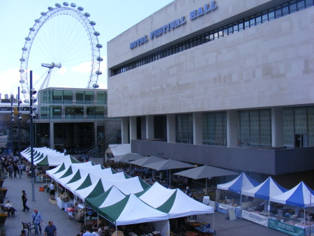 Real Food Market at Southbank Centre Square