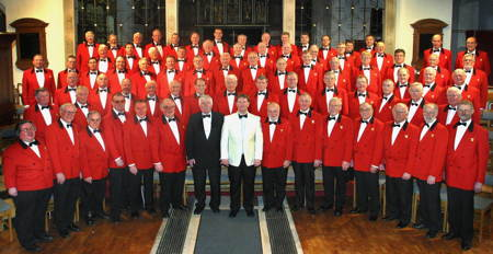 London Welsh Male Voice Choir at Southwark Cathedral