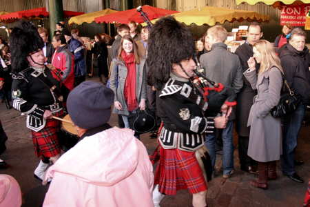 Borough Market Welcomes the Haggis at