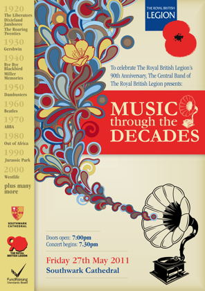 Music through the Decades at Southwark Cathedral