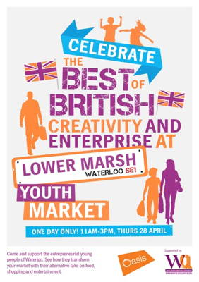 Youth Market at Lower Marsh