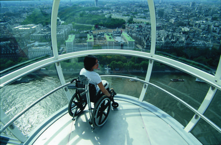 Gowrings Mobility Roadshow at London Eye
